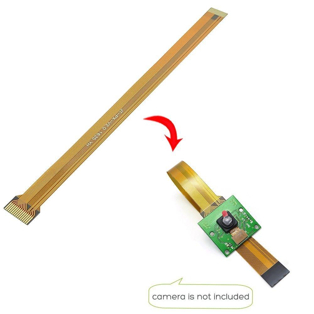 16CM 30CM para cámara Raspberry Pi, Cable dorado FFC de 15 Pines, 22 Pines, línea de cinta para Raspberry Pi Zero o Zero W