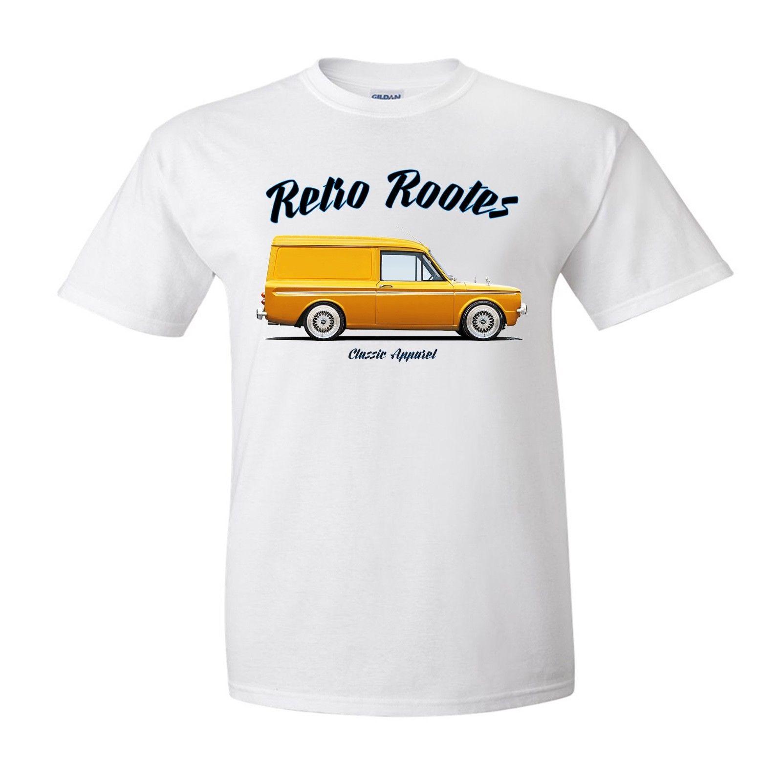 Nueva marca de moda camiseta de Hip Hop Hillman Imp Husky Van camiseta. Grupo de Fans de coches clásicos franceses Retro. ¿Modificado? Homme traje