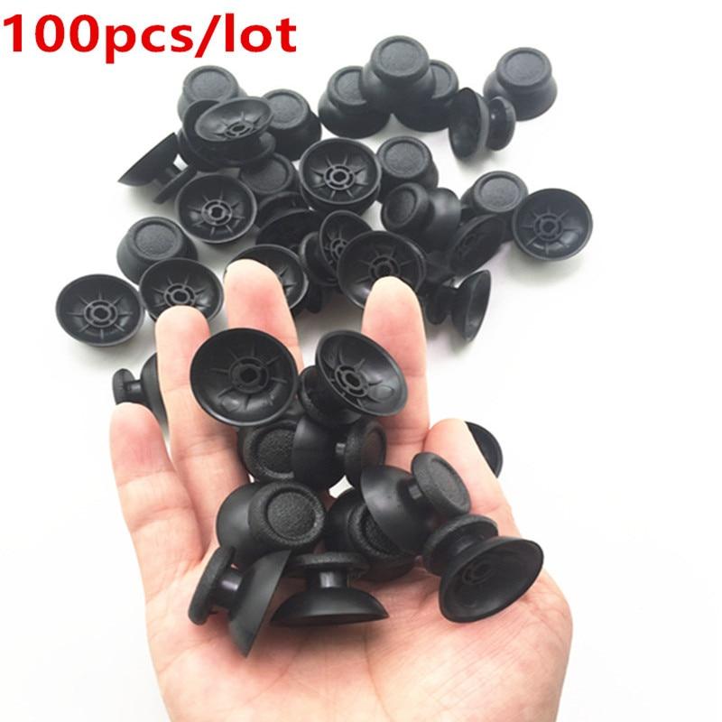 100 Uds PS4 cubierta analógica 3D Shell Thumb Stick mando análogo de joystick tapa de hongo para Sony PlayStation 4 PS4 accesorios de controlador