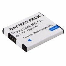 1pc 1000mAh NB-11L NB 11L NB11L NB-11LH Batterie Für Canon A2600 A3500 A4000IS IXUS 125 132 140 240 245 265 155 HS NB-11L Bateria