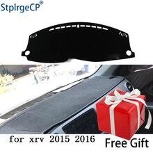 for honda xrv 2015 2016 2017 dashboard mat Protective pad Shade Cushion Pad interior sticker car styling accessories