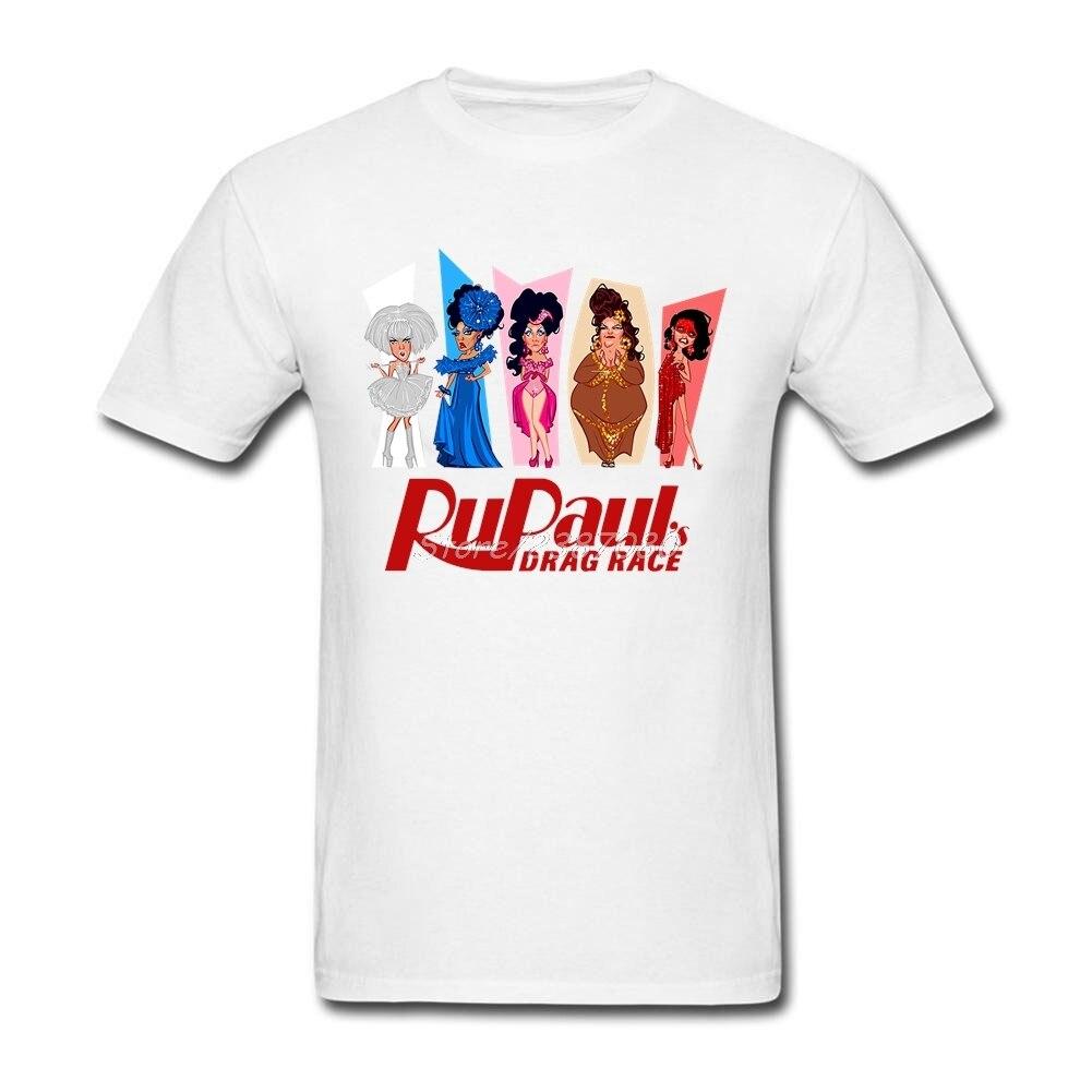 New Rupaul T Shirt Party Men T Shirt Cotton Crewneck Plus Size Short Sleeve Rupaul Drag Race Tees Shirts Homme