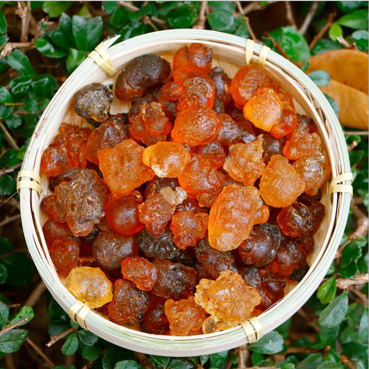 Wild Natural Premium Natural Peach Gum, Peach Resin Food Grade Gum Jelly