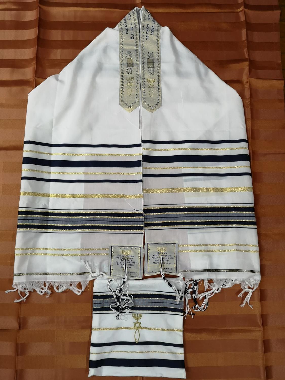Tallit Judío mesiánico, chal de oración, bolsa de Talis