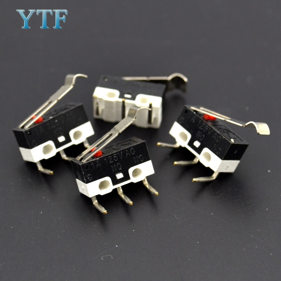Piezas de impresora 3D MK7 / MK8 interruptor de límite de hogar Interruptor táctil