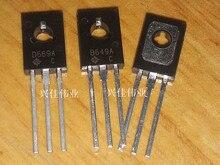 50PCS/LOT New 2SD669A D669A TO-126 Transistor Audio Tube 1.5A/160V