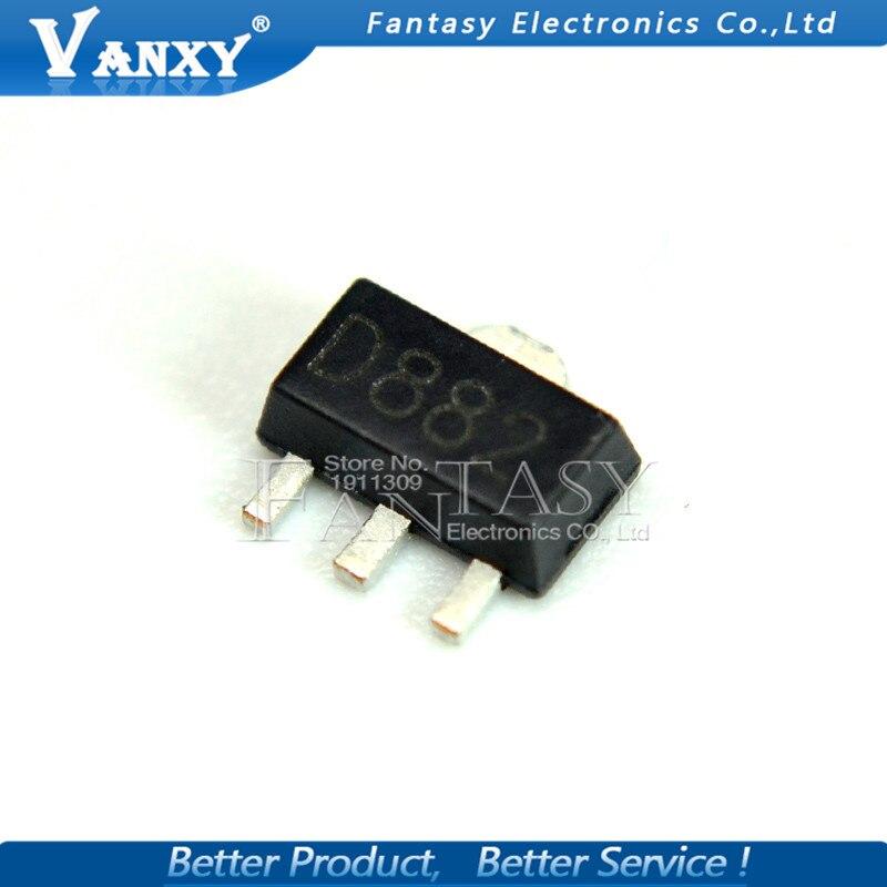 20 piezas 2SD882 SOT89 D882 SOT SMD nuevo y original IC