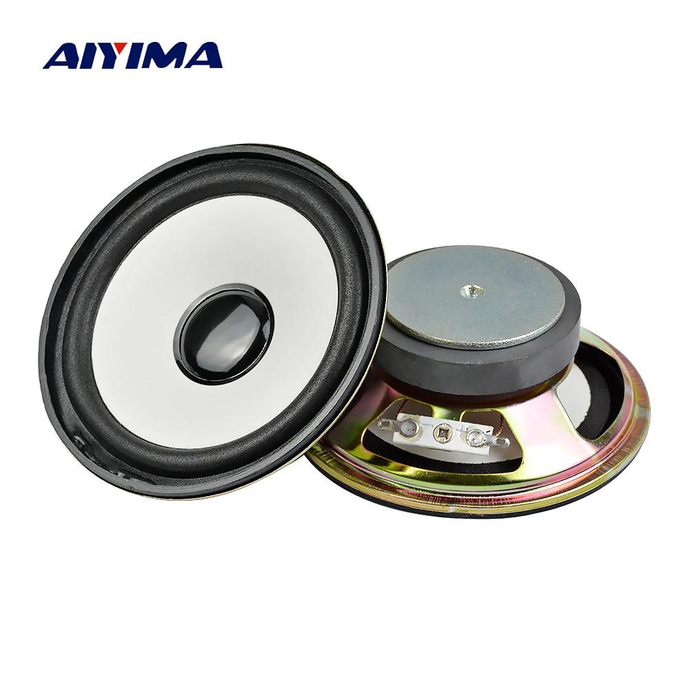 AIYIMA-Altavoz de Audio redondo para cine en casa, sistema de sonido, Woofer...