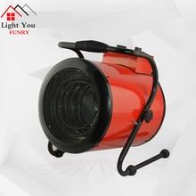Chauffage industriel souffleur ménage chauffage électrique ventilateur de chauffage électrique déshumidification sèche-linge serre chauffage 3000W