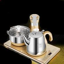 Four à thé électromagnétique entièrement automatique avec bouilloires à eau pompant un ensemble trois-en-un Protection Anti-sec