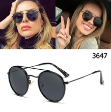 JackJad-lunettes De soleil ronde métal   2019 mode moderne, dégradé, lunettes De soleil classiques De marque Vintage, Oculos De Sol