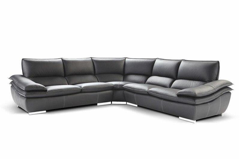 Диваны для гостиной с угловым Кожаным диваном современного дивана Большой