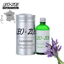 LEOZOE Lavender Essential Oil Certificate Of Origin France Authentication Aromatherapy Lavender Oil 100ML