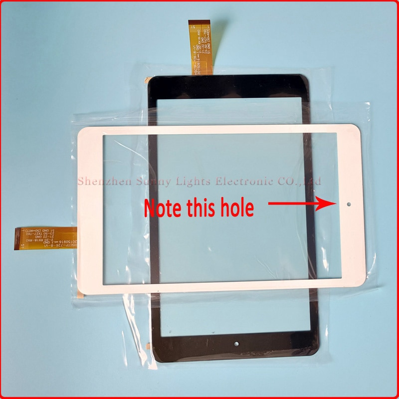 Nuevo 10 unids/lote 8 pulgadas Tablet PC pantalla táctil para Chuwi HI8 pro Universal pantalla táctil MID Panel táctil reparación