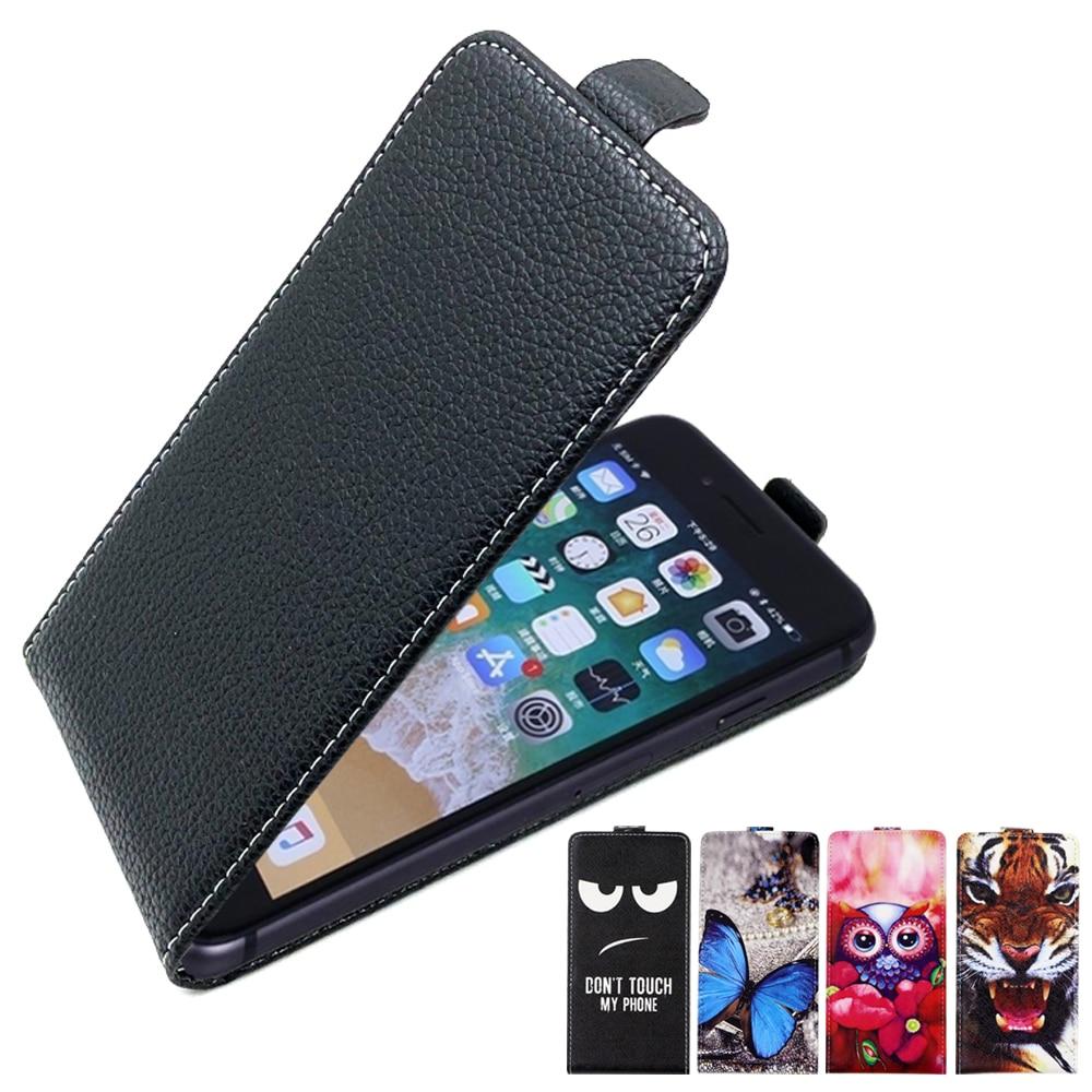 Étui SONCASE pour Oukitel C12 Pro, étui de téléphone à rabat 100% spécial belle bande dessinée en cuir housse en cuir