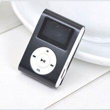 Mini pince lecteur de musique 3.5mm prise stéréo Portable étanche Sport MetalMP3 Support Micro SD TF carte