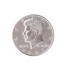 동전은 더 큰 환상 마술 소품 동전 껍질 절반 동전 마술 장난감이된다