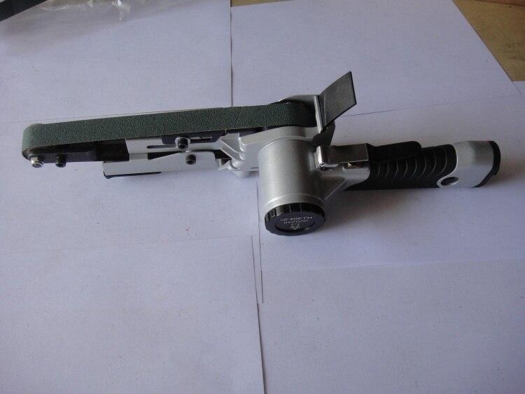 30mm air pneumatic belt sanding machine belt sander, circular polishing machines, belt grinding machine grinder
