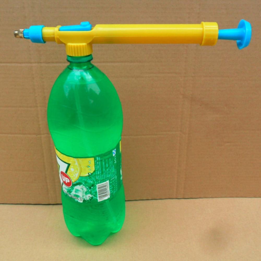 Mini Speelgoed Geweren Sap Flessen Interface Plastic Trolley Gun Sproeier Hoofd Druk Water Sproeier Sproeikop Tuinieren Leveringen