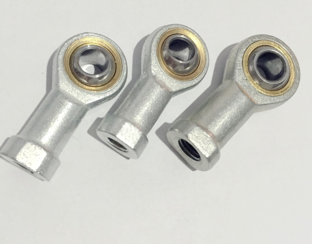 (2 PCS) (PHSA10) (SI10T/K) (10mm) Female Metric Threaded Rod End Joint Bearing