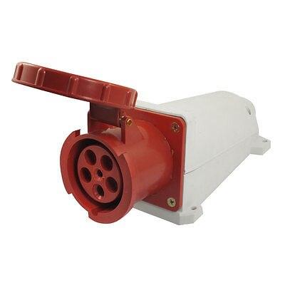 AC 220-380V/240-415V 63A 6 دبوس لوحة تصاعد IEC309-2 الصناعية المقبس