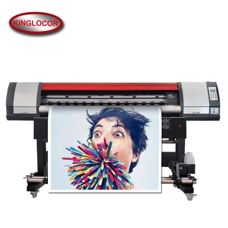 Профессиональная промышленная 1,8 м/6 футов One XP600 цифровая печатная машина виниловый гибкий Баннер Принтер наружный Принтер эко растворител...