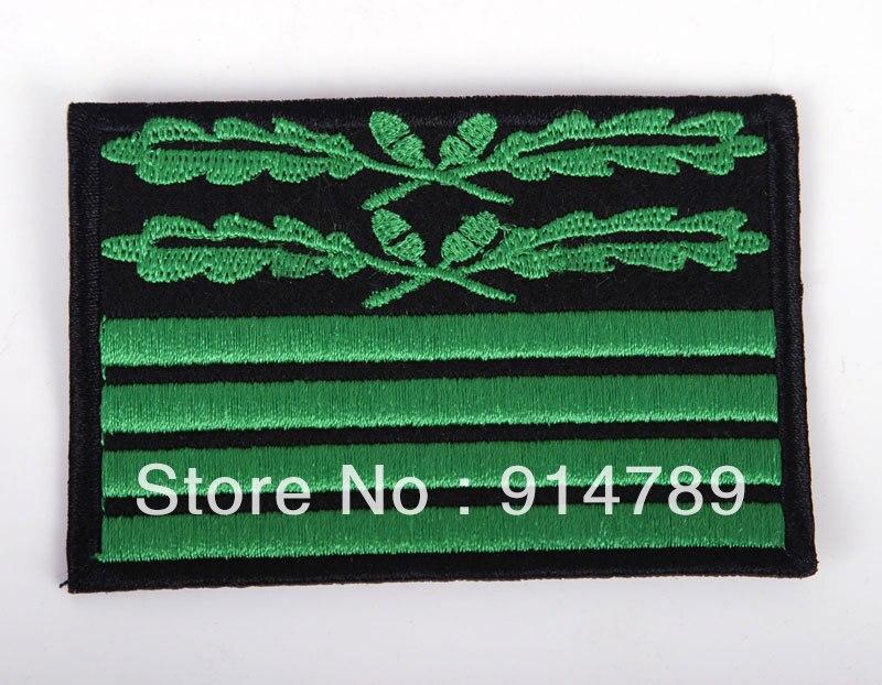Parche de insignia GENERAL de briadier de rango de camuflaje alemán WW2-33206