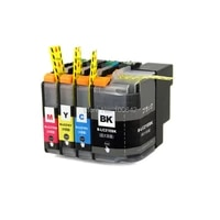yotat 1set 21e compatible ink cartridge lc21e lc 21e for brother dcp j983n printer