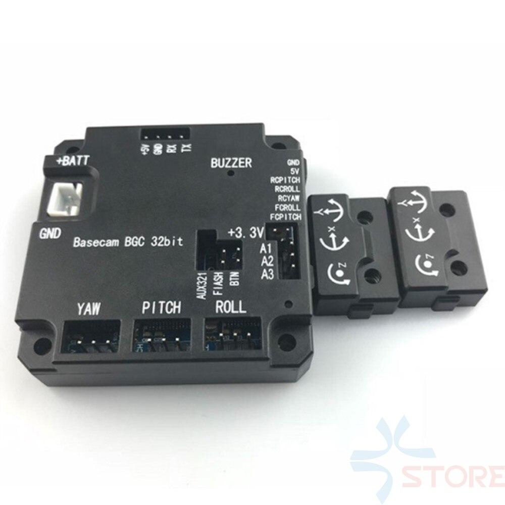Ufficiale genuino AlexMos 32bit ARM 3 assi Brushless Gimbal Controller & IMU BaseCam BGC