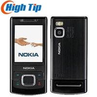 unlocked Nokia original 6500S 6500 Slider mobile phone with 3.15MP Camera Bluetooth 3G Bluetooth free shipping Refurbished