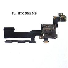 Nouveau remplacement de câble de porte-plateau de fente de carte mémoire Micro SD pour HTC ONE M9 de haute qualité