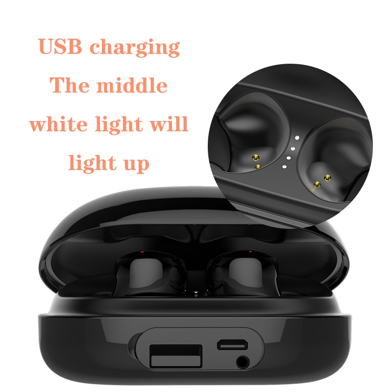 New C5 Biaural Separation Design 6D High Definition Stereo Headset Wireless Noise Reduction Bluetooth 5.0 Headset 3500mA Battery enlarge