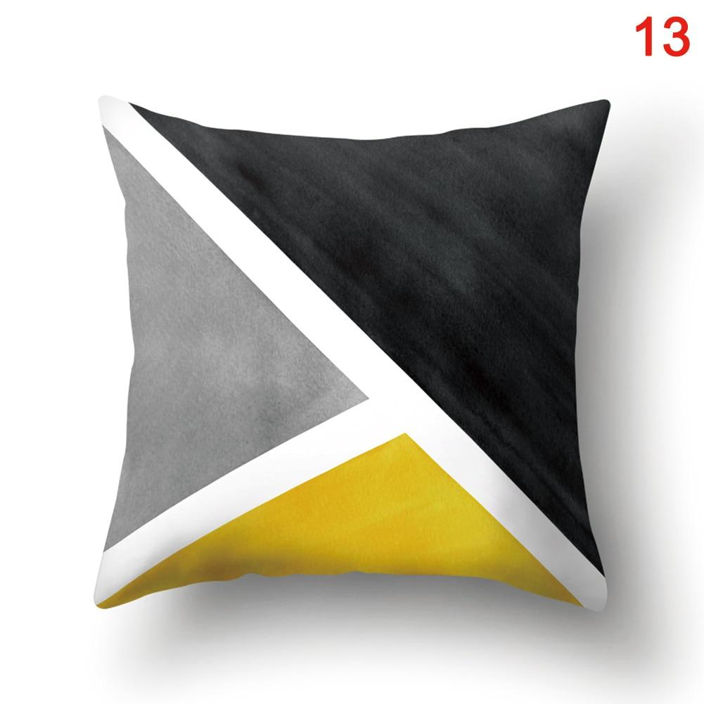 Capa de almofada caso 45x45cm decoração para casa durável para o quarto barra de café do carro j2y