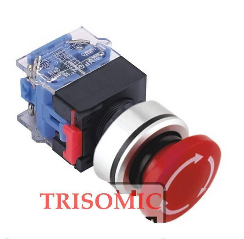 Montaje de 30mm 1NO/1NO 1NC/2NC/2NO interruptor de parada de emergencia bloqueo/liberación de retato UL 3A/220 V IP40