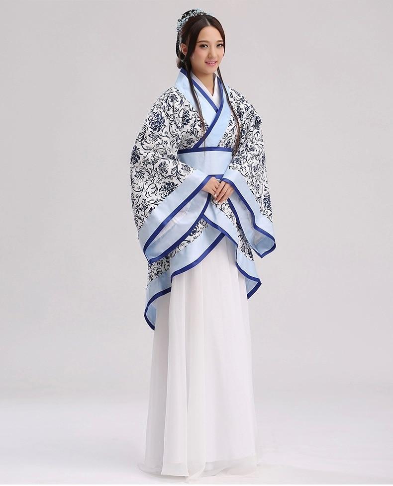 زي تانغ الصيني التقليدي الكبير ، زي رقص Hanfu ، زي الأميرة من سلالة البولير الصيني ، فستان المسرح