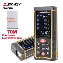 SNDWAY Range Flinder numérique Laser télémètre écran coloré télémètre télémètre Laser mesure ruban SW-S50/70/100