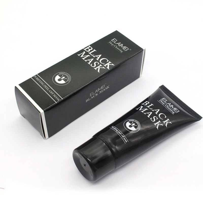 Novedoso profundo limpiador Peeling eliminar puntos negros máscara de carbón de bambú tratamiento de acné negro máscara de Control de aceite wyt77