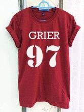 Hamilton Nash Grier 97 Shirt Magcon Boys Clothing Crimson Red Women Tshirt Tee Short Sleeve T-Shirt-C829