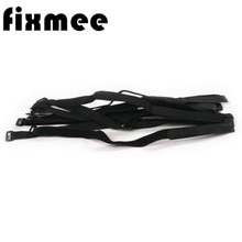 10pc /set  20mm*600mmCable Ties with Eyelet Holes organizer wiring harness cord Magic self adhesive hook loop fastener Reusable
