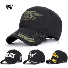 Eua marinha força aérea polícia exército bonés de beisebol dos homens bonés e chapéus bordado streetwear caminhoneiro hip hop pai chapéu verão osso czx32