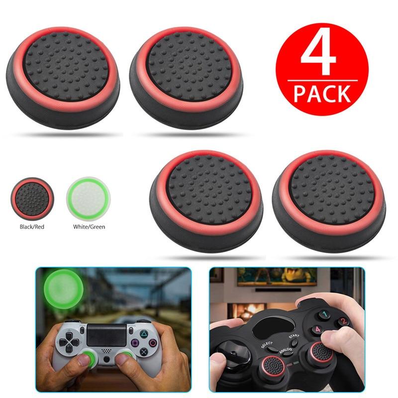 Сменная силиконовая крышка джойстика для PS3/PS4/XBOX ONE/XBOX 360 беспроводные контроллеры аксессуары для игр 4 шт./лот