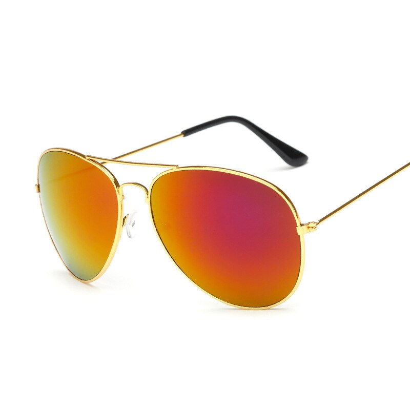 3026 óculos de sol lunette de soleil marca de aviação designer piloto óculos de sol metal quadro completo óculos de sol das mulheres 3025 moda barata