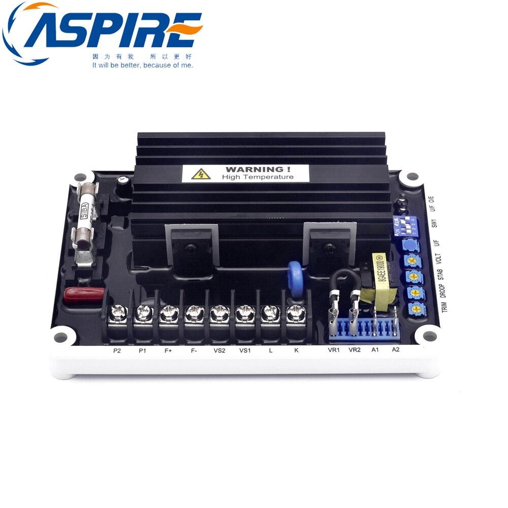 EA16A regulador de voltaje automático AVR excitación sin escobillas generador Diesel