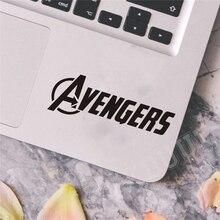 Avengers Logo 2 stücke Laptop Auto Wand Vinyl Aufkleber Aufkleber Kunst Decor Schalter Aufkleber Zitieren Kühlschrank Aufkleber C232