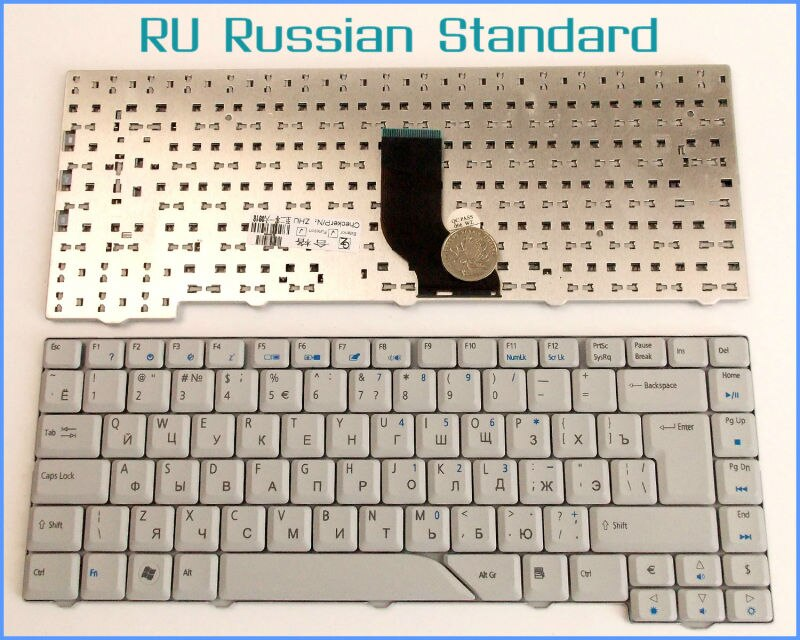 Teclado portátil para Acer Aspire 5720 5720 5720G 5720Z 5720ZG 6935 6935G...