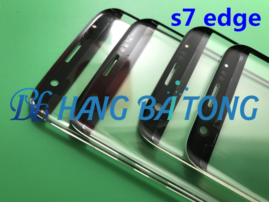 10pcs Original LCD Front Touch Screen Outer Glass Lens with OCA film For Samsung Galaxy s7 edge G935 G9350 G935F/A/P/V enlarge