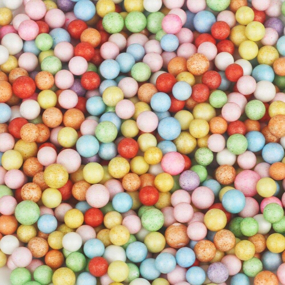 8000 teile/los Multi Farben 2-4mm Schaum Bälle Dekorative Ball DIY Hochzeit/Party/Weihnachten urlaub Dekoration liefert Lose Perlen