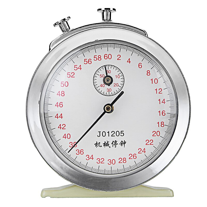 60s 0.1s Mechanical Clock Stopwatch Physics Experiment Timer