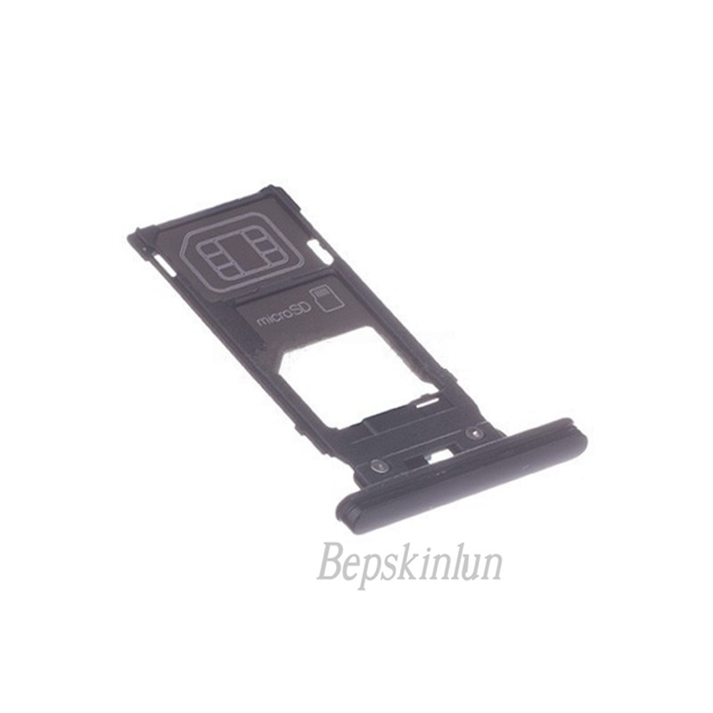 Bepskinlun Original SIM Card Tray Holder Replacement Part for Sony Xperia XZ2 dower me micro sd card sim card reader holder connector for sony xperia xz2 xz3 h8216 h8266 h8276 h8296 h9493