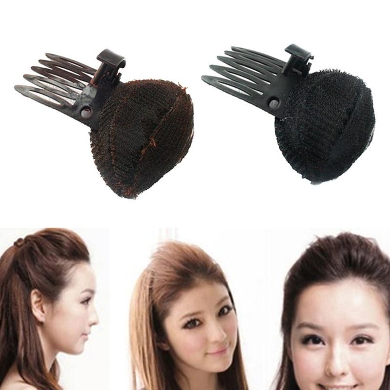 Lnrrabc magia diy mulheres ferramentas de estilo de cabelo macio esponja clipe princesa headwear fabricante cabelo almofada moda acessórios para o cabelo